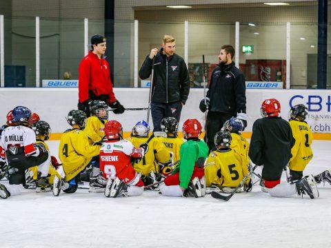 """Kids On Ice Tage beim KEC Kölner Eishockey Club """"Die Haie"""" e.V."""