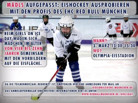 GIRLS ON ICE DAY DES EHC MÜNCHEN