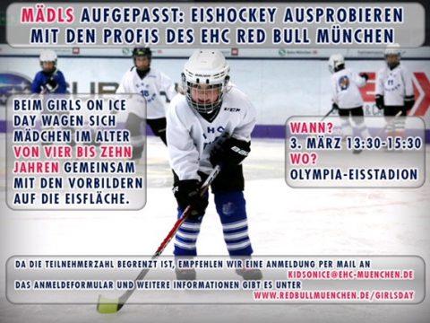 GIRLS ON ICE DAY DES EHC MÜNCHEN