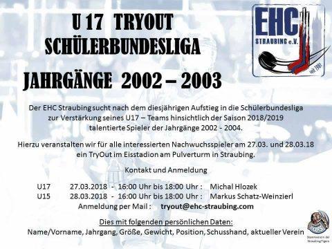 U17 Tryout Schülerbundesliga