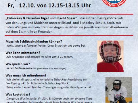 EHC Kreuzlingen – Schnupperwoche 2018