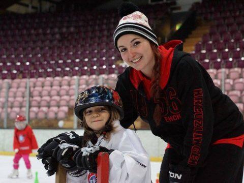 World Girls' Eishockey Weekend – Komm auch du aufs Eis!