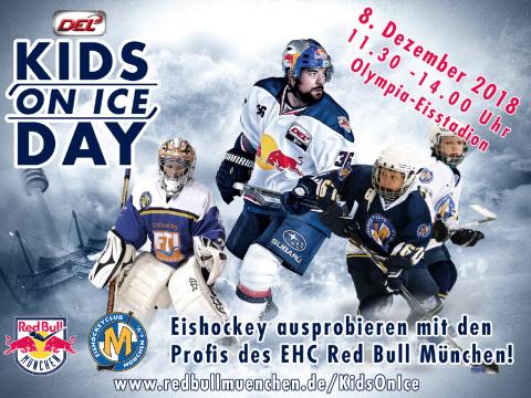 Eishockey ausprobieren mit den Profis des EHC Red Bull München.