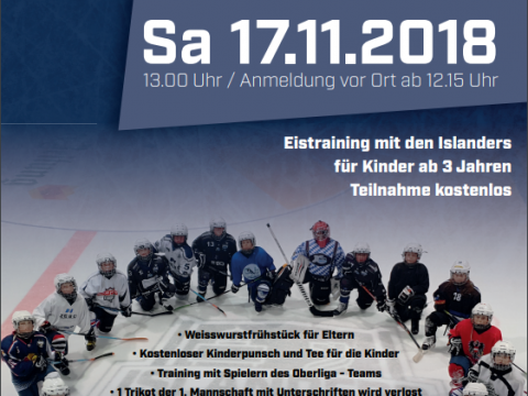 Kids On Ice Day EV Lindau Islanders