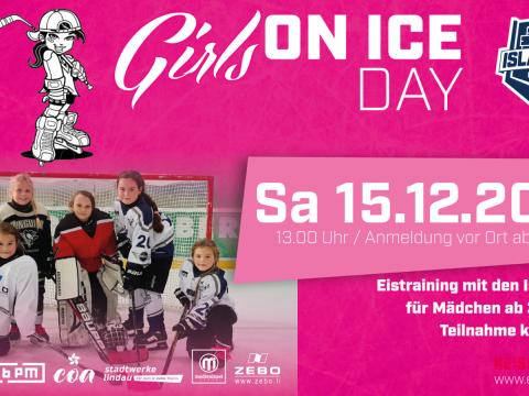 Girls On Ice Day EV Lindau Islanders